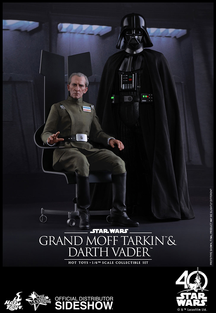[Pre-Order] Episode IV A New Hope - Grand Moff Tarkin and Darth Vader Movie Masterpiece Set