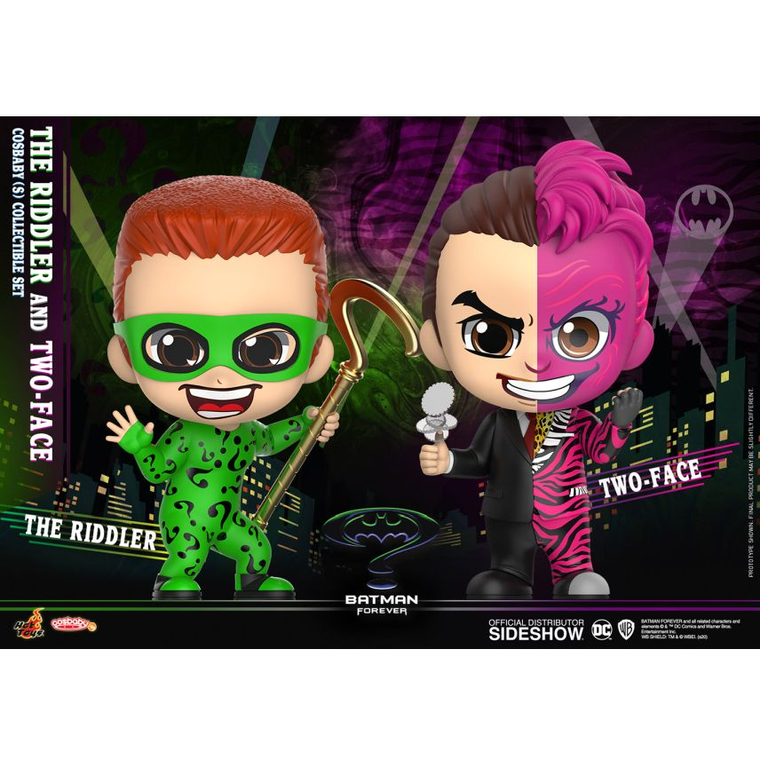 [Pre-Order] Cosbaby: Batman Forever - The Riddler & Two-Face