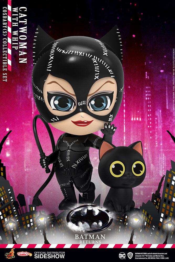 [Pre-Order] Cosbaby: Batman Returns - Catwoman with Whip