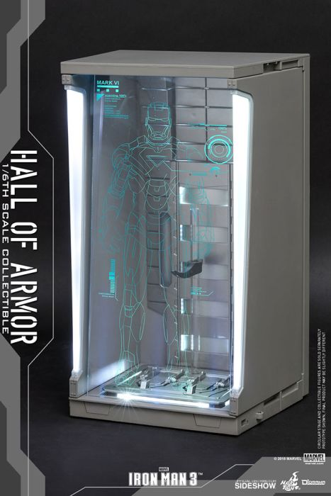 [Pre-Order] Diorama Series - Hall of Armor (Single) Sixth Scale Figure Accessory
