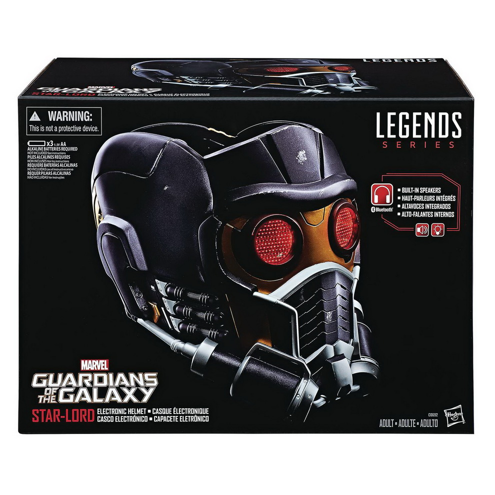 [Pre-Order] Marvel Legends Replica - Star Lord helmet