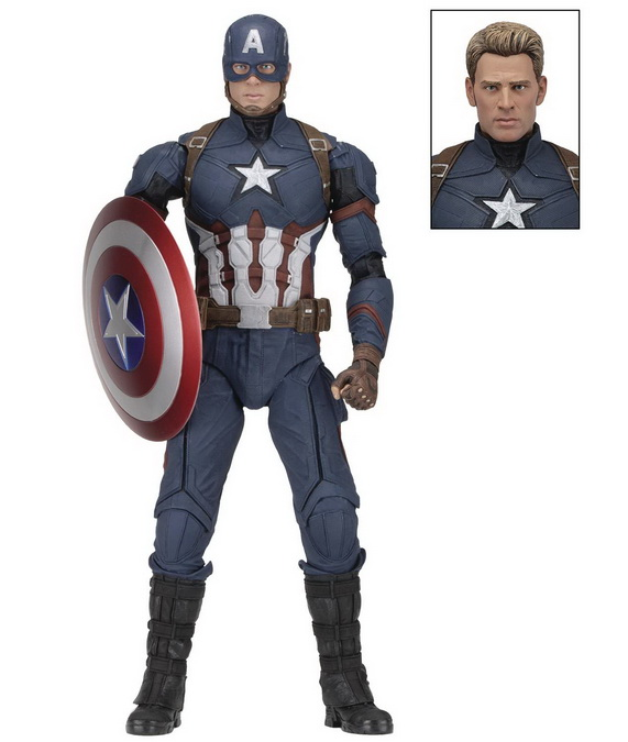 [Pre-Order] Marvel - Civil War Captain America 1/4 Scale Action Figure