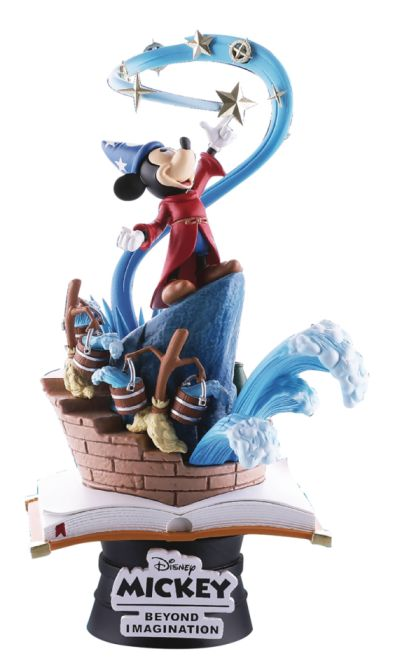 "[Pre-Order] Disney Select Series 6"" Statue - Mickey Mouse Sorcerer's Apprentice"