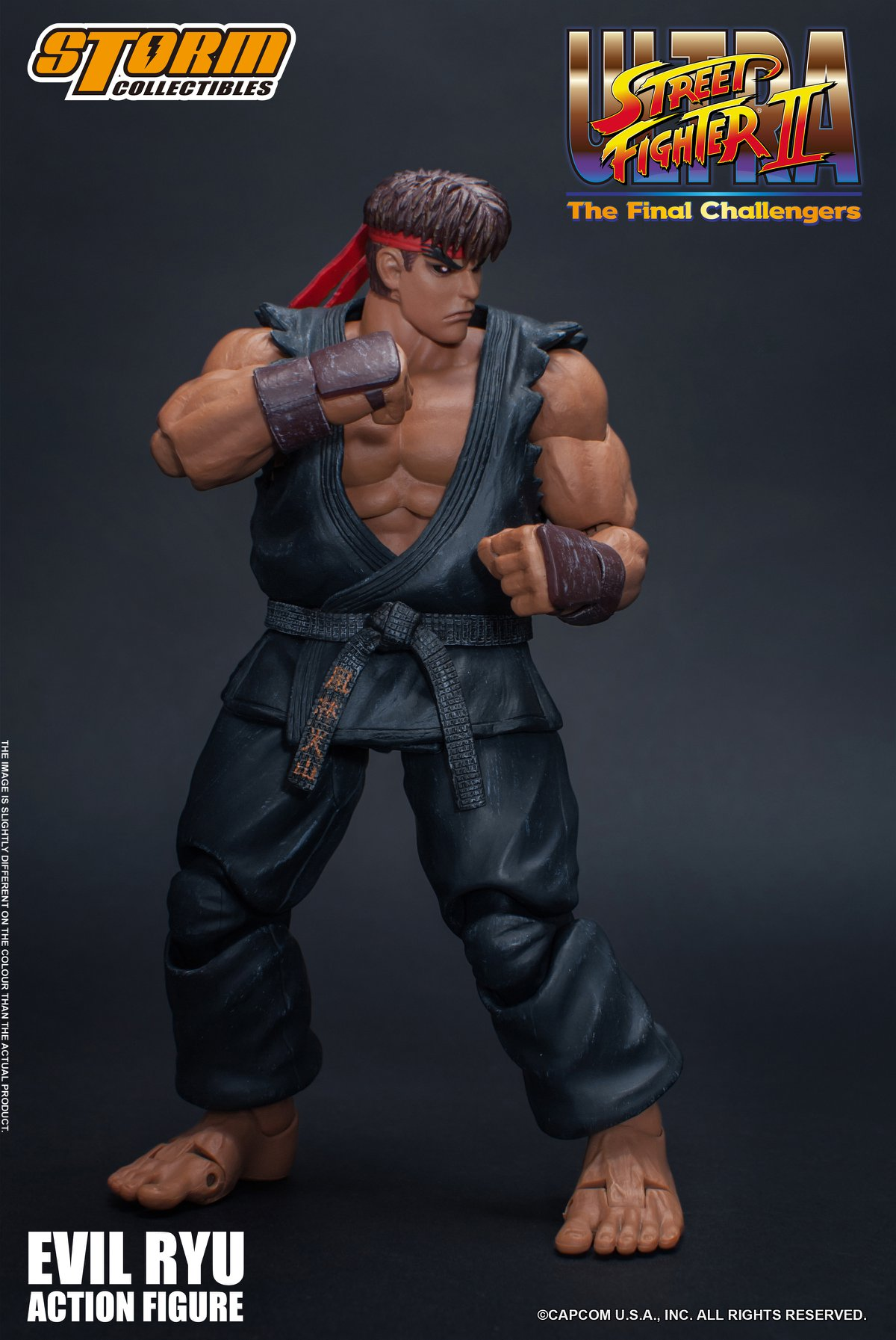 [Pre-Order] Ultra Street Fighter II - Evil Ryu 1:12 Action Figure