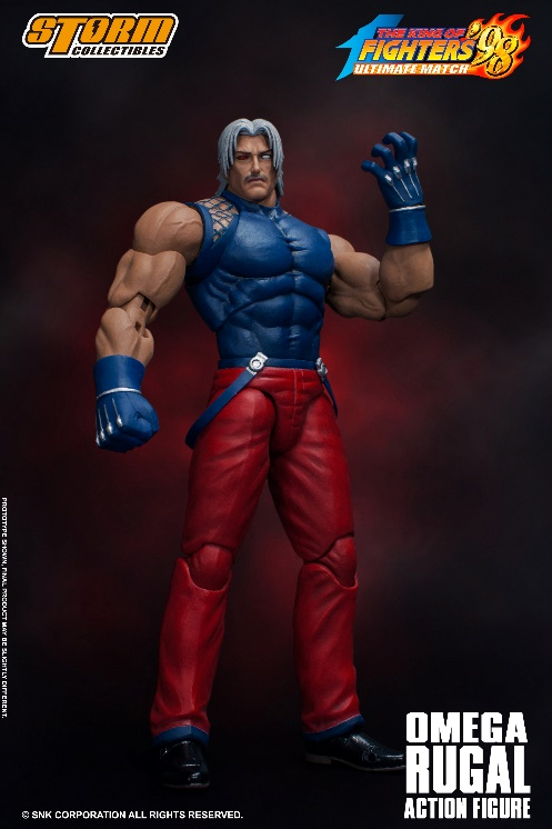 [Pre-Order] King of Fighters' 98 - Omega Rugal 1/12 Action Figure