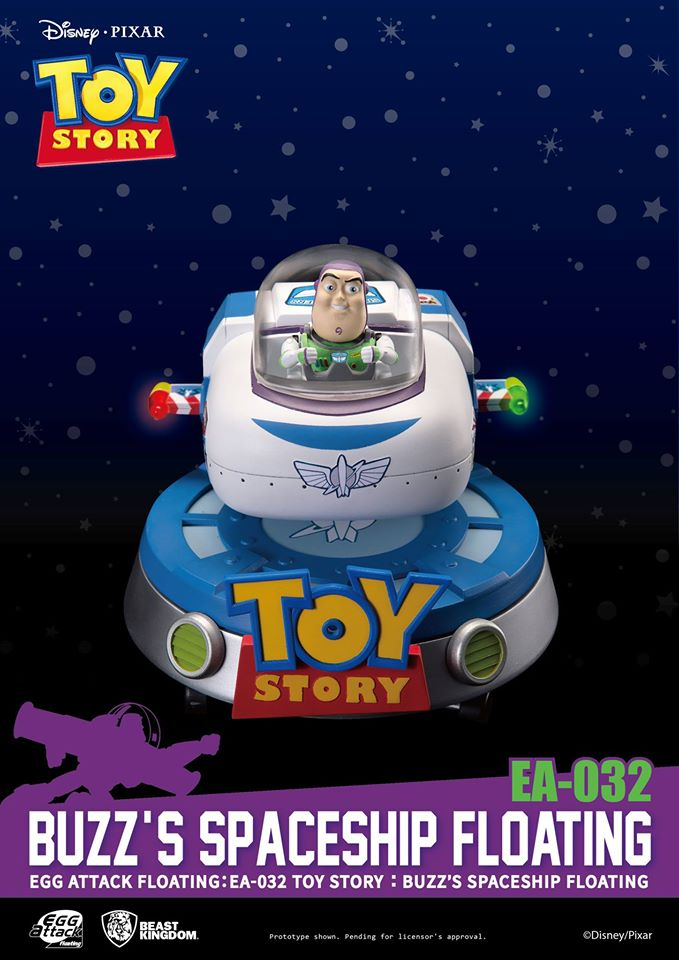 [Pre-Order] Toy Story Buzz's Spaceship Floating